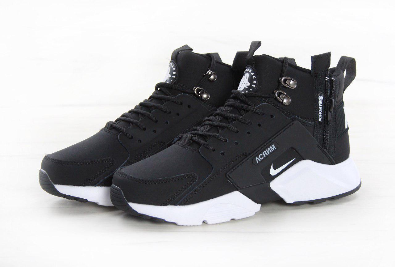 Кроссовки мужские Nike Huarache X Acronym 31007 черные