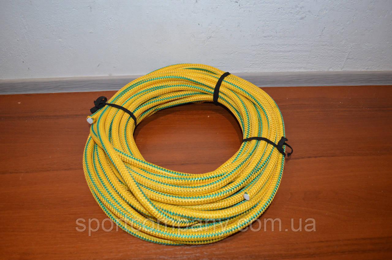 Борцовская резина жгут желтая - диаметр 12 мм