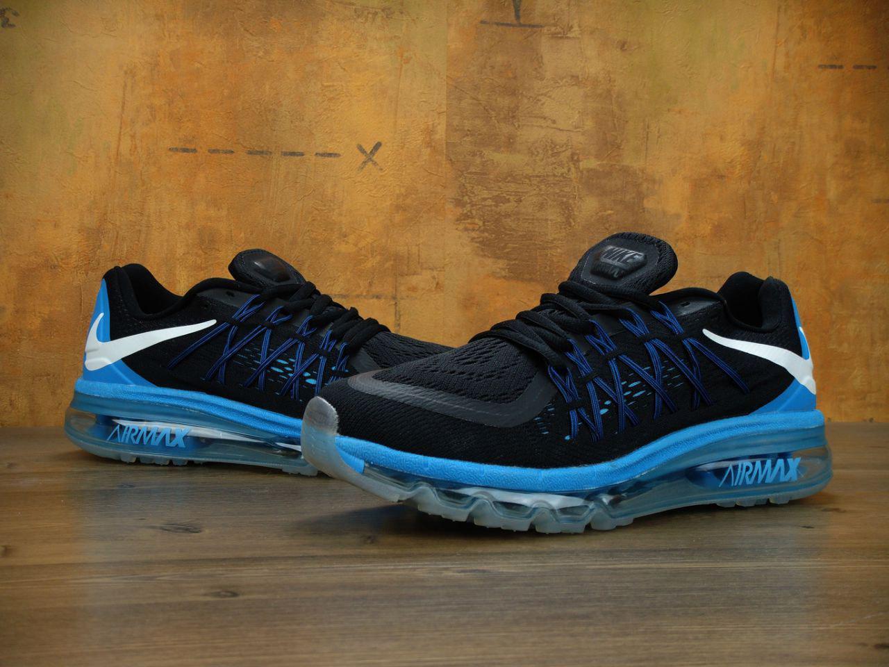 Кроссовки мужские Nike Air Max 2015 31071 черные