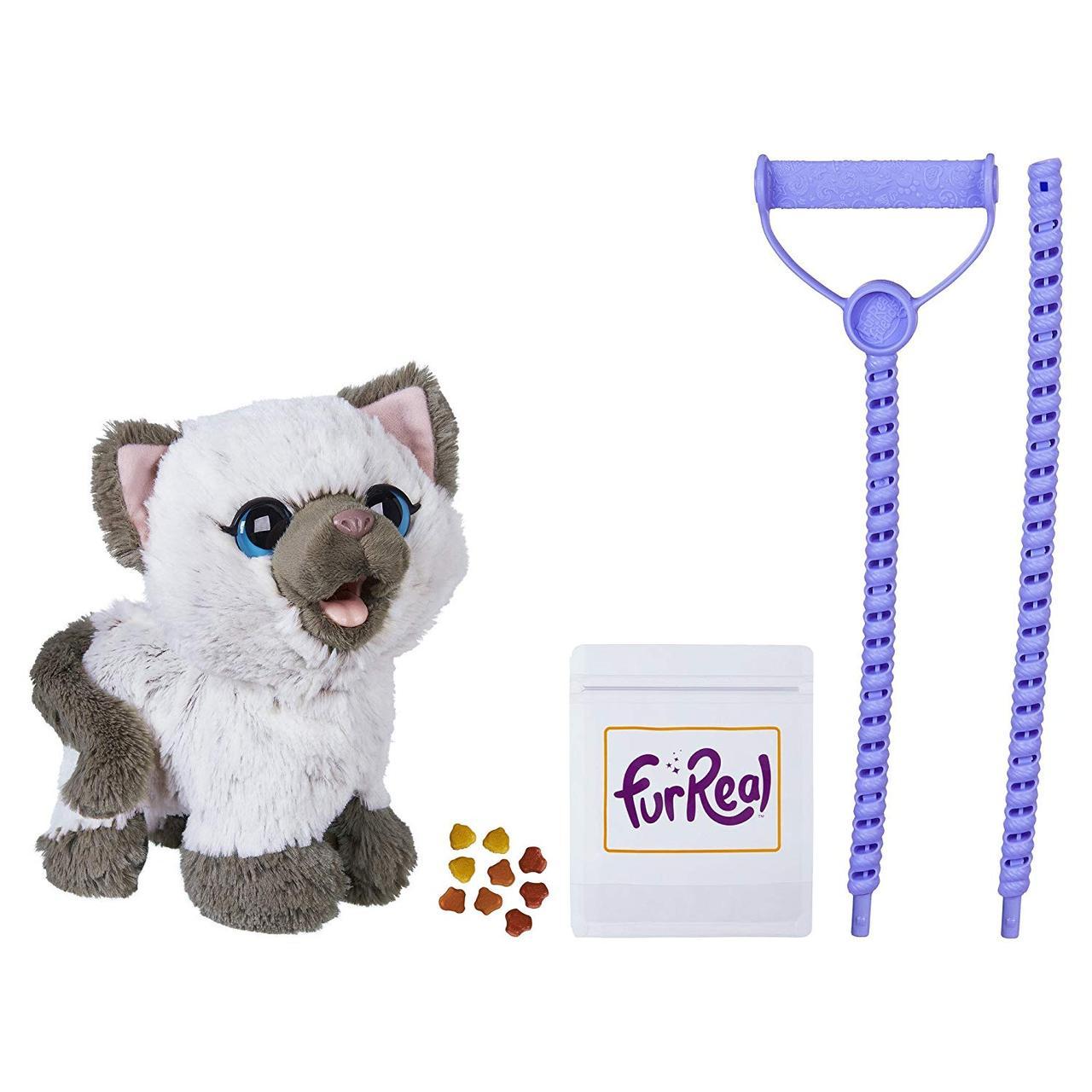 Интерактивный котенок Ками, кушает, ходит FurReal Friends Kami Poopin Kitty Toy, Hasbro Оригинал