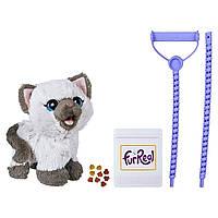 Интерактивный котенок Ками, кушает, ходит FurReal Friends Kami Poopin Kitty Toy, Hasbro Оригинал, фото 1