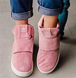 Кроссовки женские Adidas Tubular invader D5496 розовые теплые, фото 4