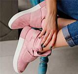 Кроссовки женские Adidas Tubular invader D5496 розовые теплые, фото 8
