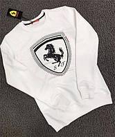 Кофта мужская Puma Ferrari D5504 белая
