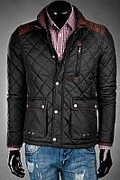 Мужская стеганная весення куртка,молодежная мужская весенняя куртка