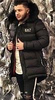 Куртка мужская Emporio Armani D5527 черная