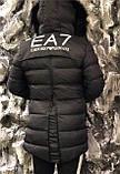 Куртка мужская Emporio Armani D5527 черная, фото 2