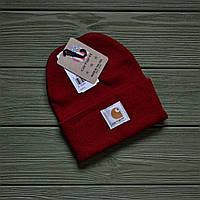 Шапка Carhartt 13009 красная