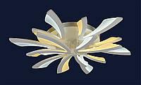 Супер яркая светодиодная люстра с потолочным креплением 755MX10012-6+3 WH