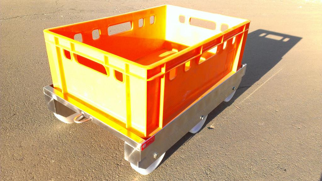 Тележка для перевозки ящиков 2