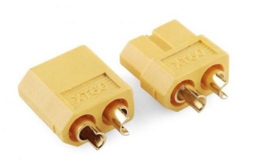 Роз'єм живлення XT60 2pin пара тато-мама для RC, електровелосипеда