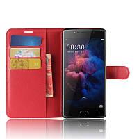 Чехол-книжка Litchie Wallet для Doogee BL7000 Красный