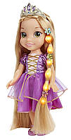 Disney кукла малышка  Рапунцель поющая, волосы светятся Tangled Glow & Style Rapunzel Toddler Doll