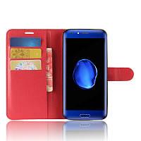 Чехол-книжка Litchie Wallet для Doogee BL5000 Красный