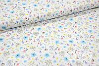 Ткань сатин Полевые цветы, фото 1