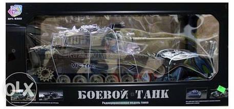 Детский Танк р/у аккум 9362-7, Большой танк на радиоуправлении., фото 3