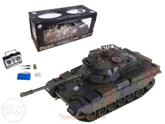 Детский Танк р/у аккум 9362-7, Большой танк на радиоуправлении., фото 2