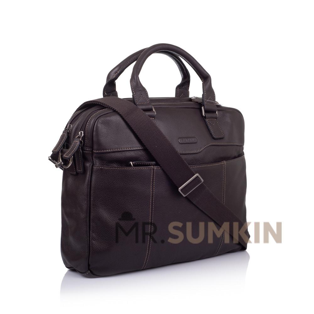 a8ad6f2153cc Портфель Katana k69358-2 кожаный Коричневый - Тибериус — магазин стильных  аксессуаров из натуральной кожи