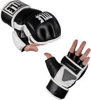 Перчатки миксфайт для мешкаTITLE Wristwrap Leather Heavy Bag Gloves