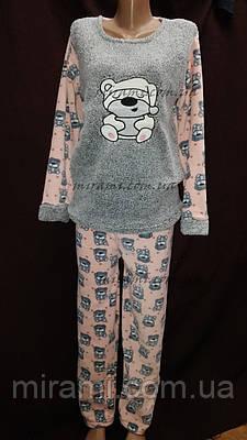 b23edd4b7ab6 Теплые женские пижамы из флиса и махры оптом  продажа, цена в ...