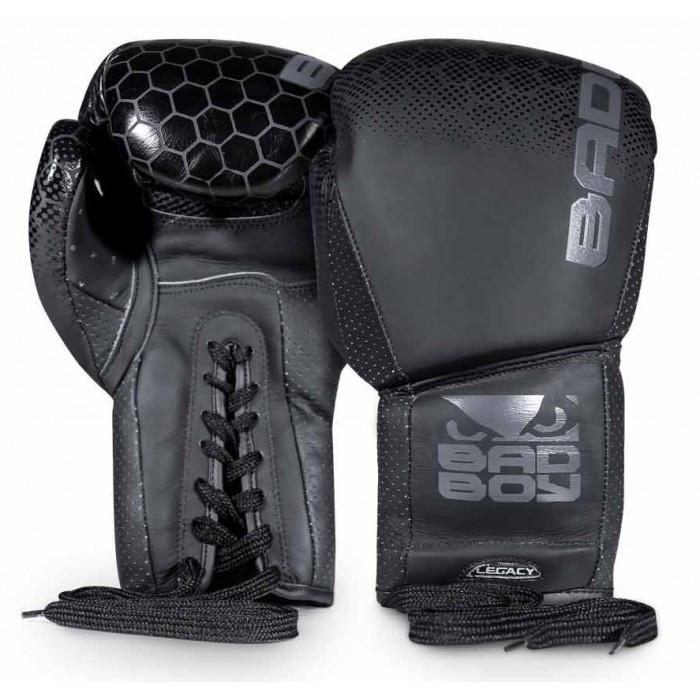 Боксерські рукавички Bad Boy Legacy 2.0 Lace Up Black 10 ун.