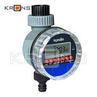 Таймер полива Aqualin автоматический, подачи воды с шаровым клапаном цифр. упр