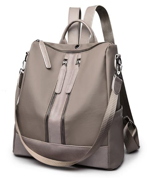 Рюкзак-сумка Sujimima сіро-бежевий