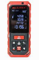 Аккумуляторный Лазерный дальномер / Лазерная рулетка на 50 метров MileSeey S2/S7