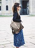 Рюкзак-сумка Sujimima сіро-бежевий, фото 10