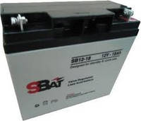 Аккумулятор SB Batteries 12 Вольт 18 А/ч, SB12 - 18
