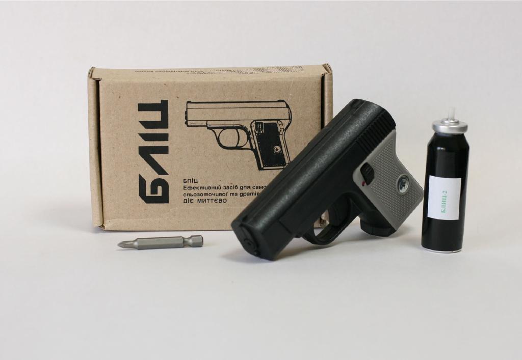 """Газовый пистолет – """"Блиц"""" + 2 баллона"""