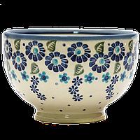 Пиала японская 10,5 керамическая маленькая Blue Wind, фото 1