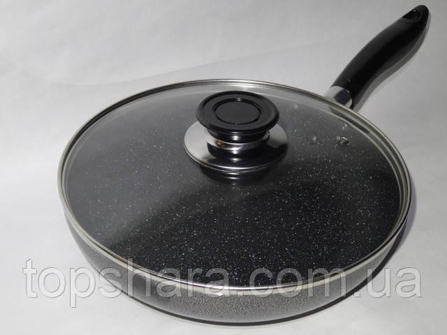 Алюминиевая сковорода с антипригарным покрытием Wimpex WX2405 (Teflon) 24 см