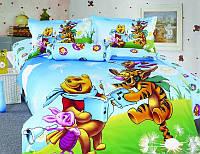 Комплект постельного белья сатин детский KI-047 160 220 La Scala 296f55d7cc596