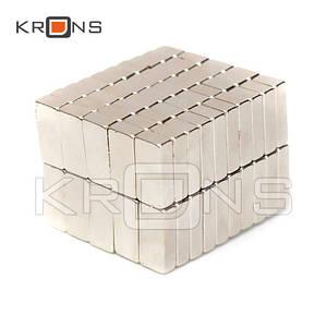 Магниты неодимовые очень сильные 10x5x3мм N50 10шт