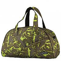 Спортивная сумка Fitness Tiger Print Музыка оливка