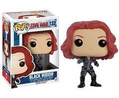 Фигурка  FUNKO РОР Чёрная вдова Black Widow #132