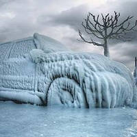 Как завести машину зимой в мороз и чем бороться с обледенением???