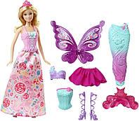 Кукла Барби Дримтопия Сказочное превращение Barbie Dreamtopia Fairytale Dress Up Doll, фото 1