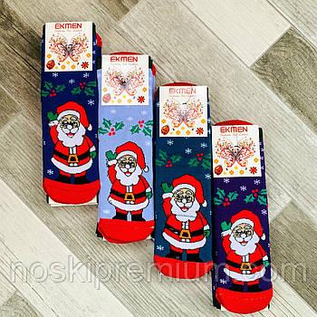 Носки женские махровые х/б Новый год Ekmen, Турция, ароматизированные, 36-40 размер, 0967