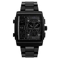 Skmei 1274 черные мужские спортивные часы, фото 1