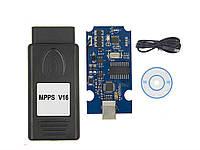 Obd2 MPPS V16-ECU профессиональный программатор ЭБУ автомобилей для чип тюнинга EDC15 EDC16 EDC17