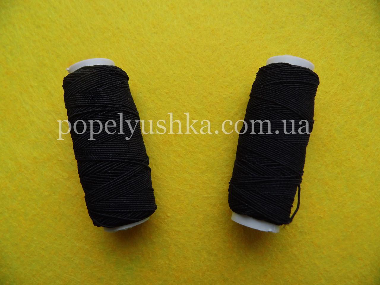 Нитка-резинка чорна