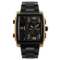 Skmei 1274 золотые мужские спортивные часы