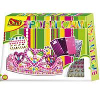 Набор для творчества «Блестящая мозайка. Корона» серии «Сделай сам»Olli Ol-308