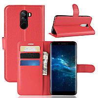 Чехол-книжка Litchie Wallet для Doogee X60L Красный
