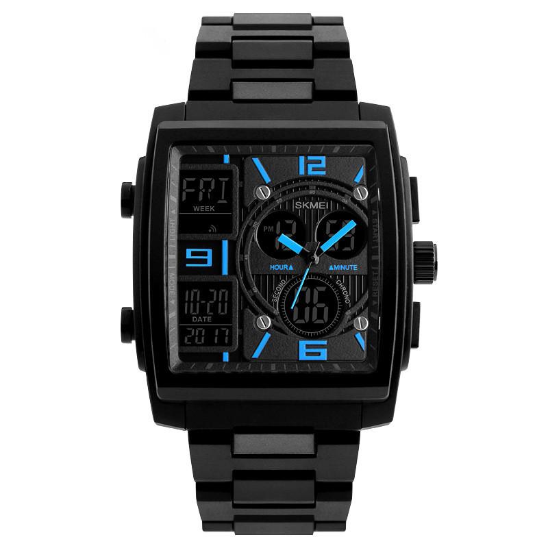 Skmei 1274 сині чоловічі спортивні годинник