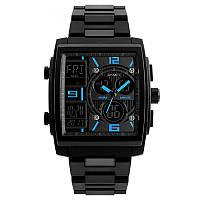 Skmei 1274 синие мужские спортивные часы