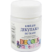 Клей для декупажа по ткани Decola 50мл 90438956