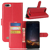 Чехол книжка Litchie Wallet для Doogee X20 Красный